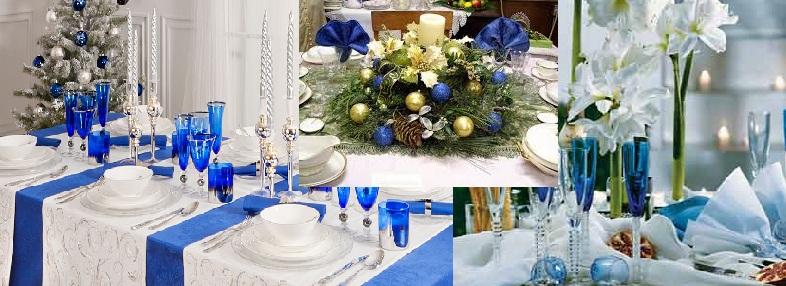 Decoração Azul para Natal